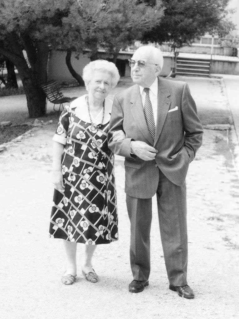 Marcel et Marthe Gaucher