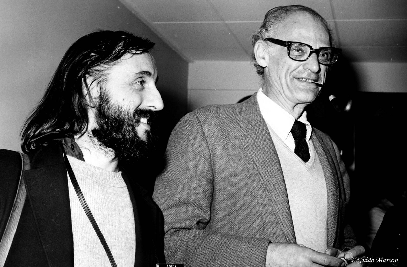 Guido Marcon et Arthur Miller