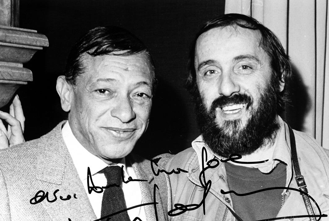 Henri Salvador et Guido Marcon