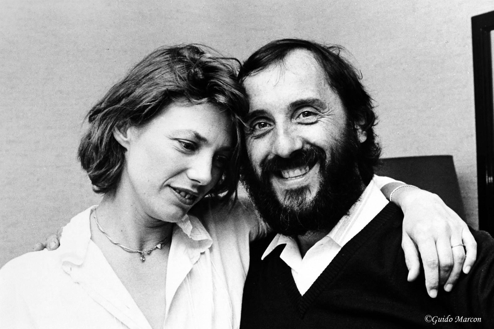 Jane Birkin et Guido Marcon