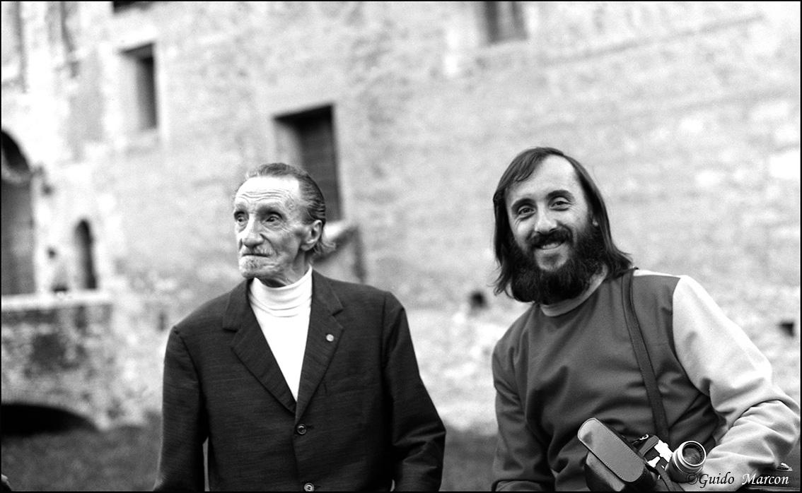 Marostica 1974 Guido Marcon et Mirko Vucetich