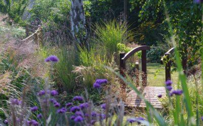 Fleurissart, le jardin de Ginny à Bousval