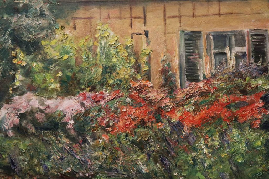 Flower Perrenials on Gardeners House Max Liebermann 1926