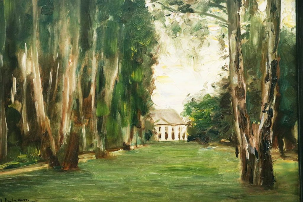 House on the Banks of Wannsee, Max Liebermann 1926