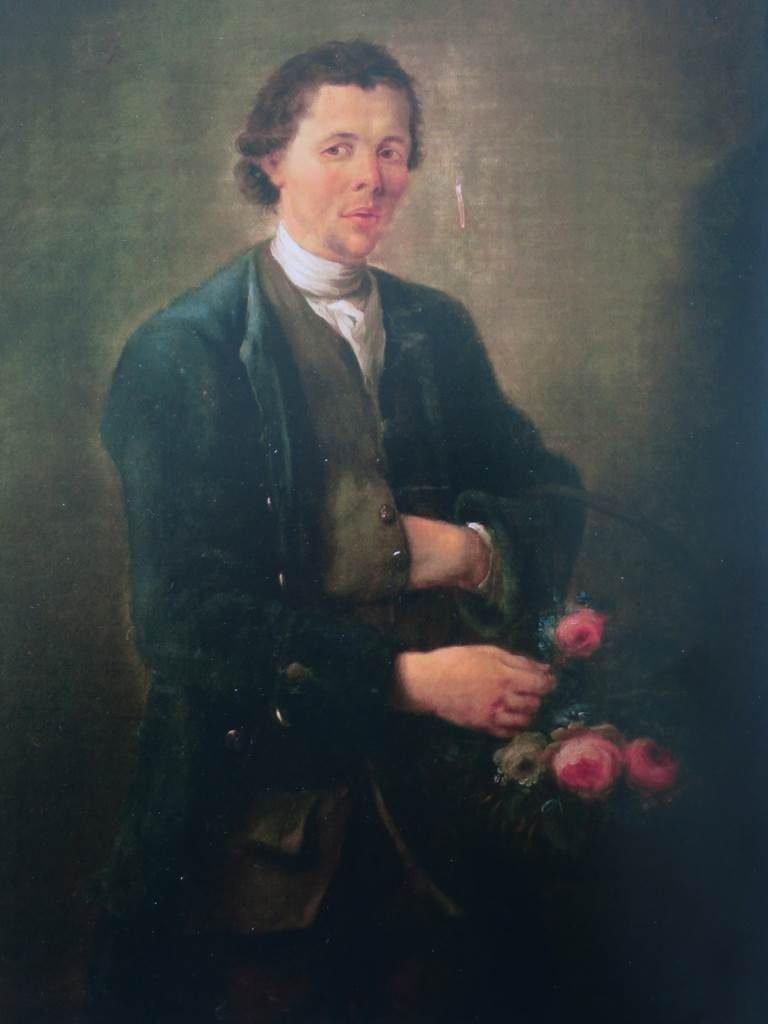 Janvier, le jardinier du Château de Hex en 1775
