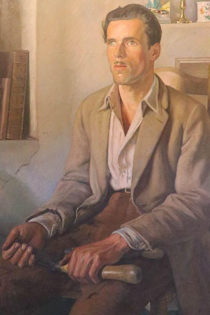 Sir William Rothenstein The Gardener