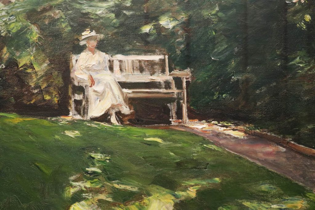 The Garden Bench, Max Liebermann 1916