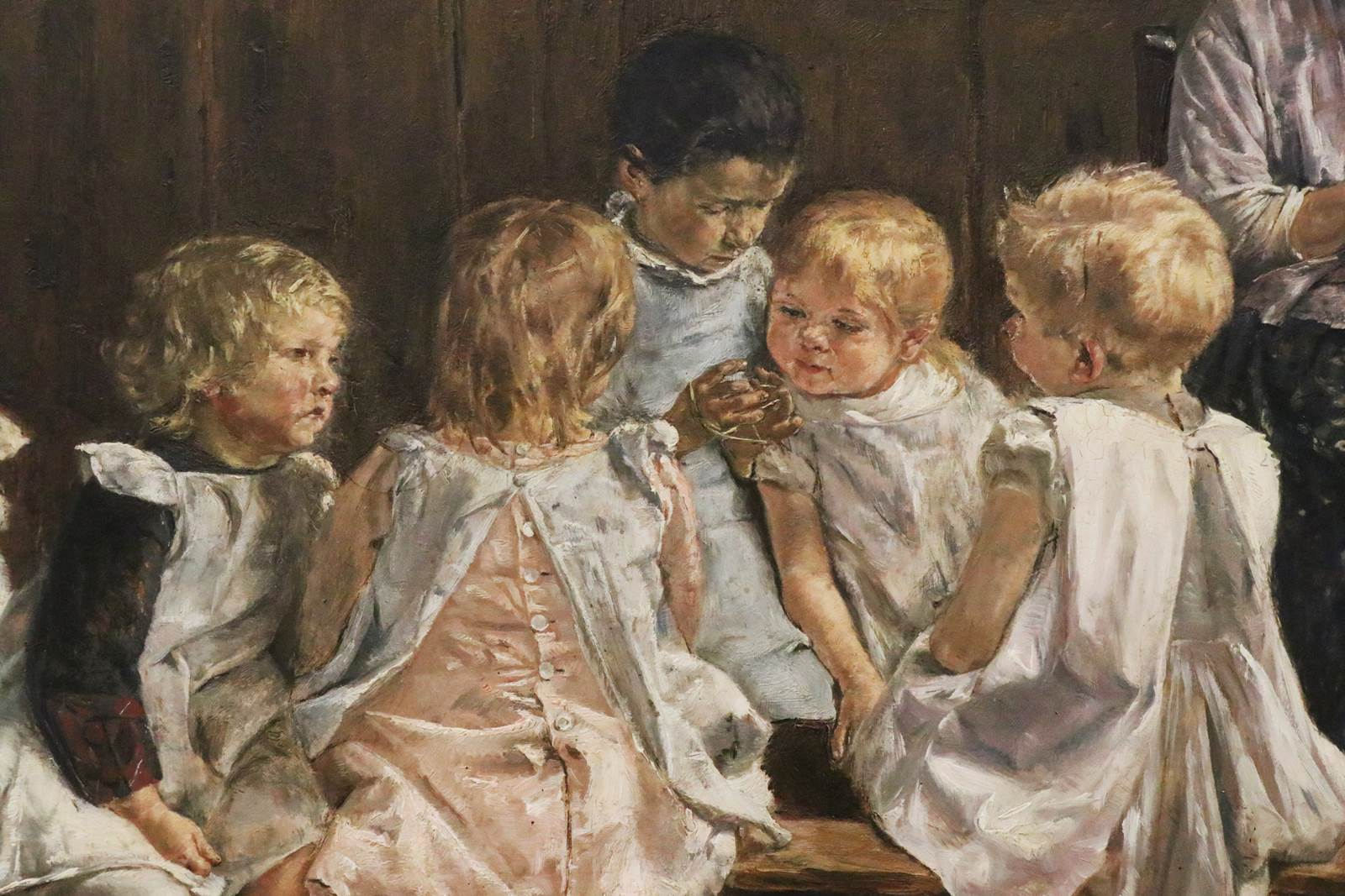 Toddlers School in Amsteredam, Max Liebermann 1880