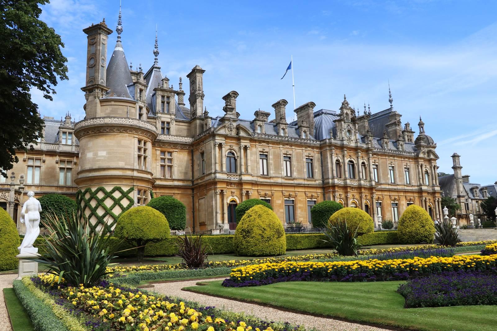 Waddesdon Manor jardin victorien