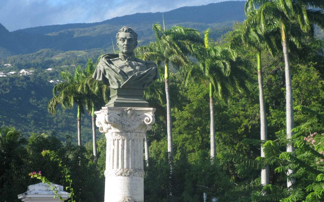 Jardin de l'Etat, jardin royal à la Réunion