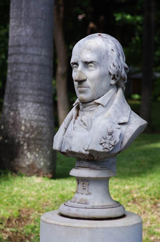 Joseph Hubert botaniste Reunion