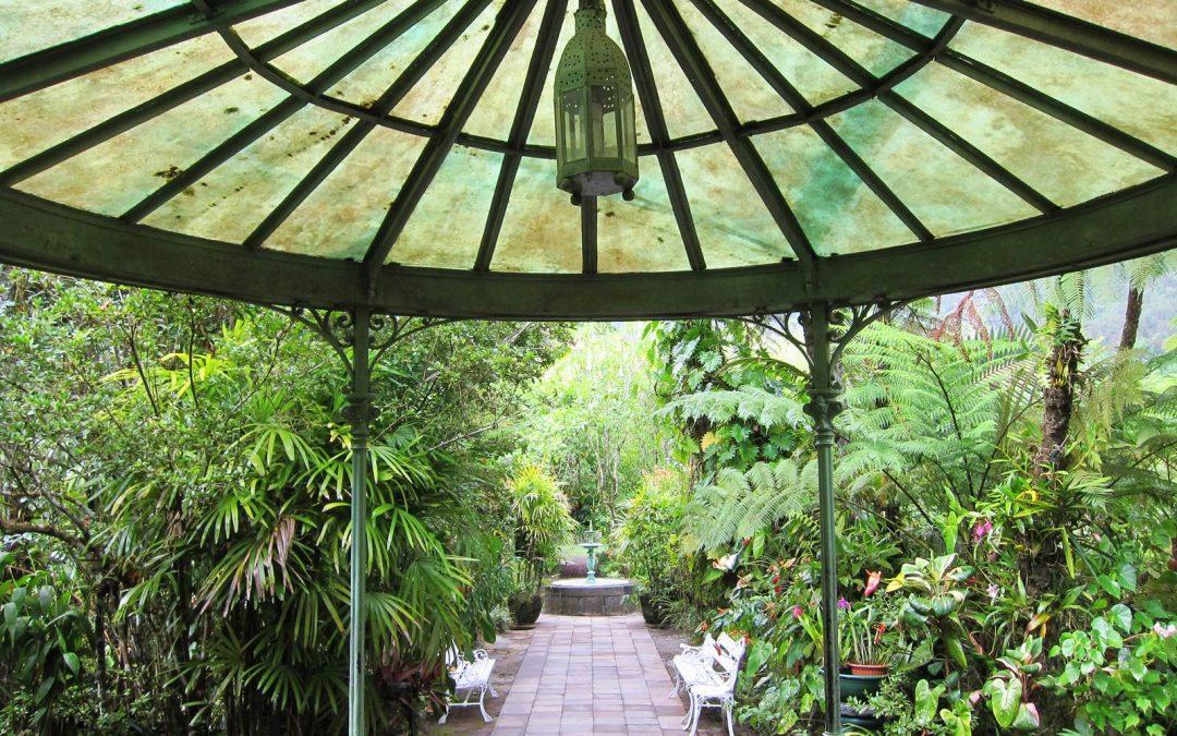 La Maison Folio, une case et son jardin créole