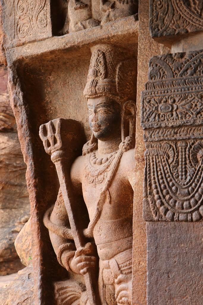 Karnataka Badami cave 1