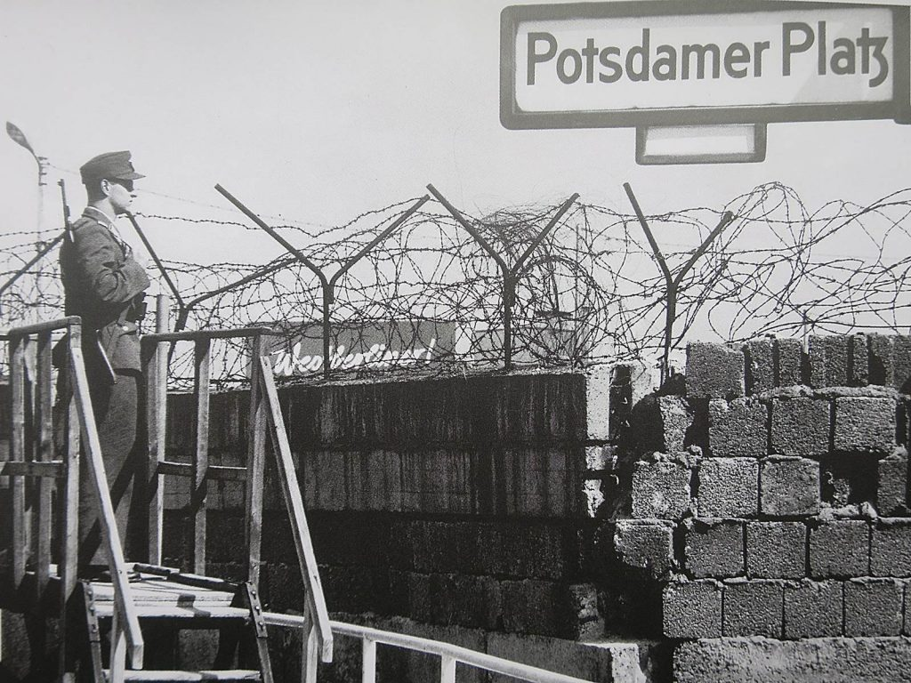 Mur de Berlin 30 ans