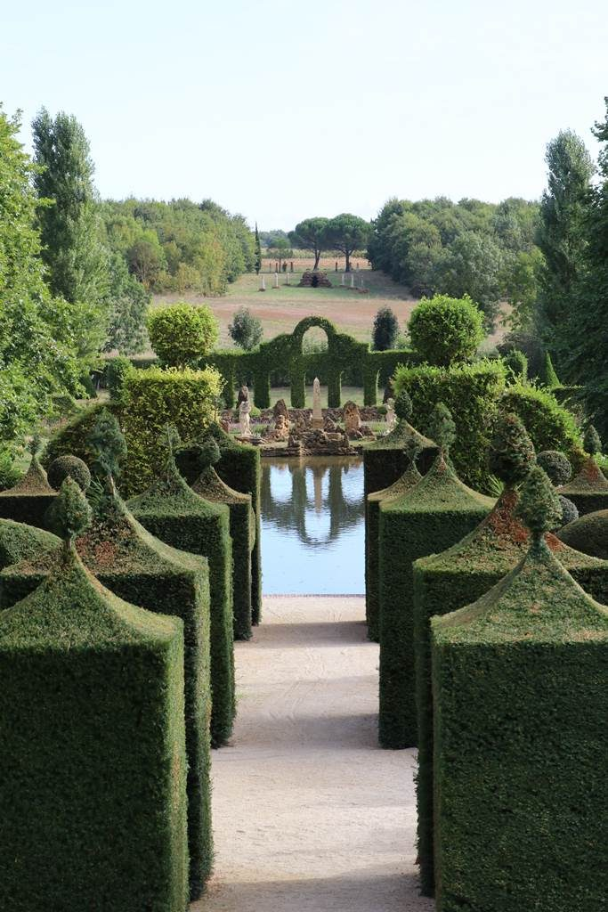 Jardin de William Christie