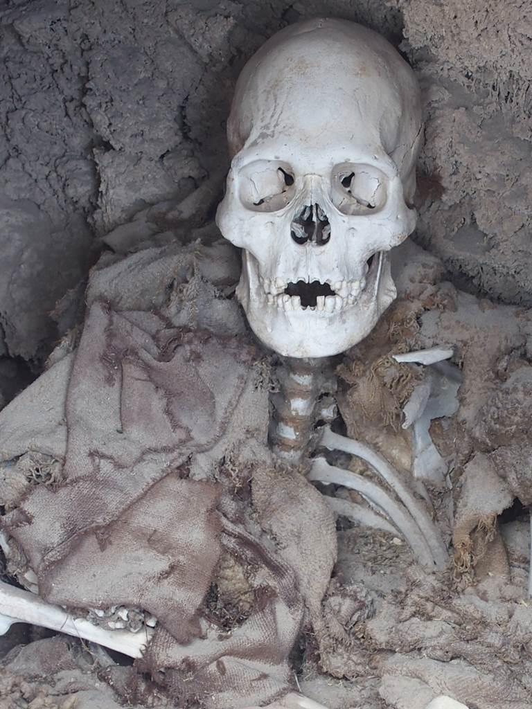 Bolivie Necropolis San Juan