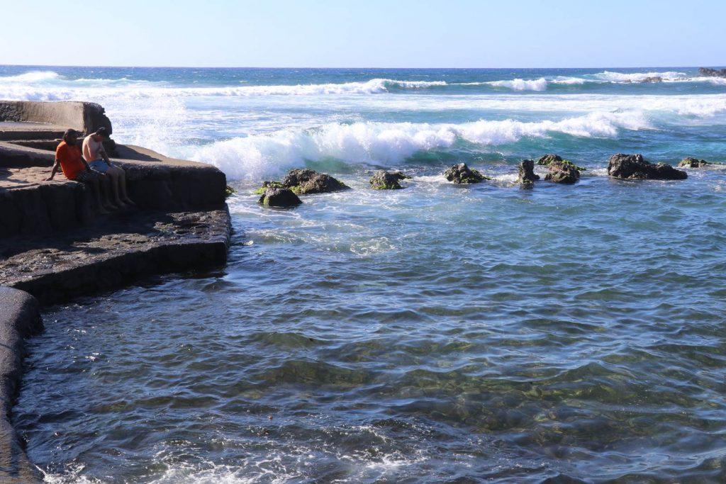 Ile de Paques piscine naturelle