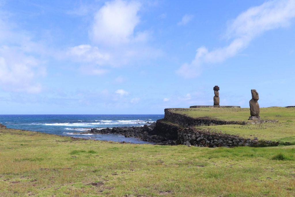Ile de Paques Ahu Tahai