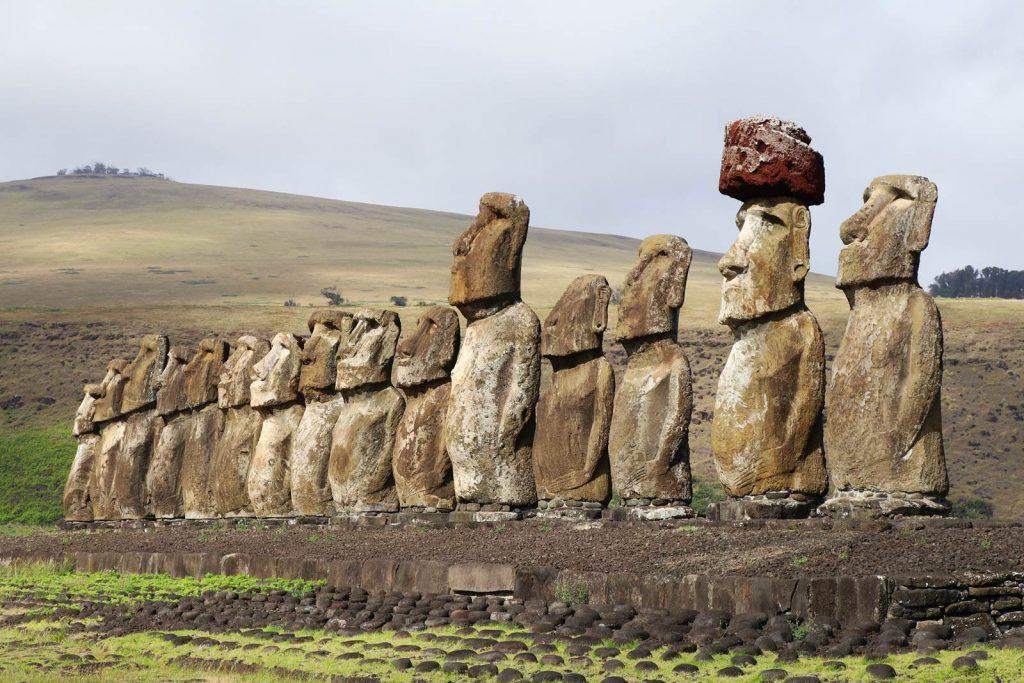 Ile de Paques Moai Tongariki