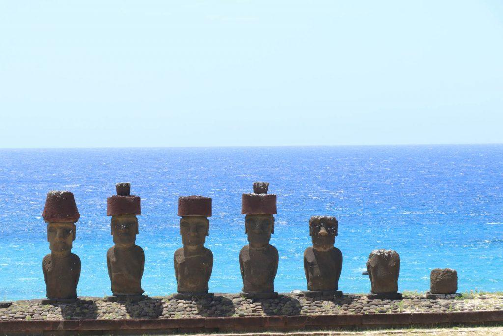 Ile de Paques Moai Anakena