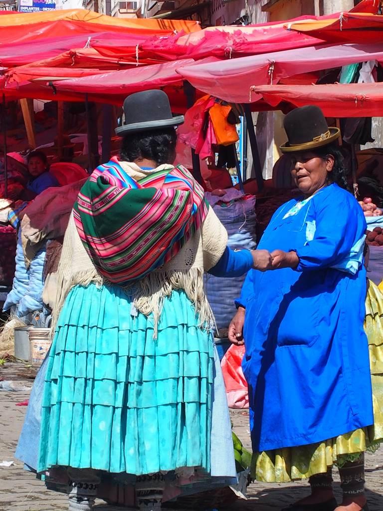 La Paz Bolivie cholita