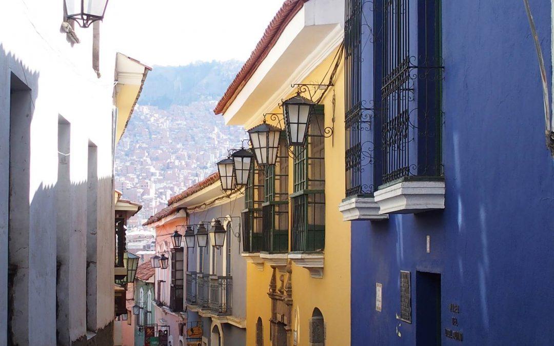 La Paz, cité indienne de Bolivie