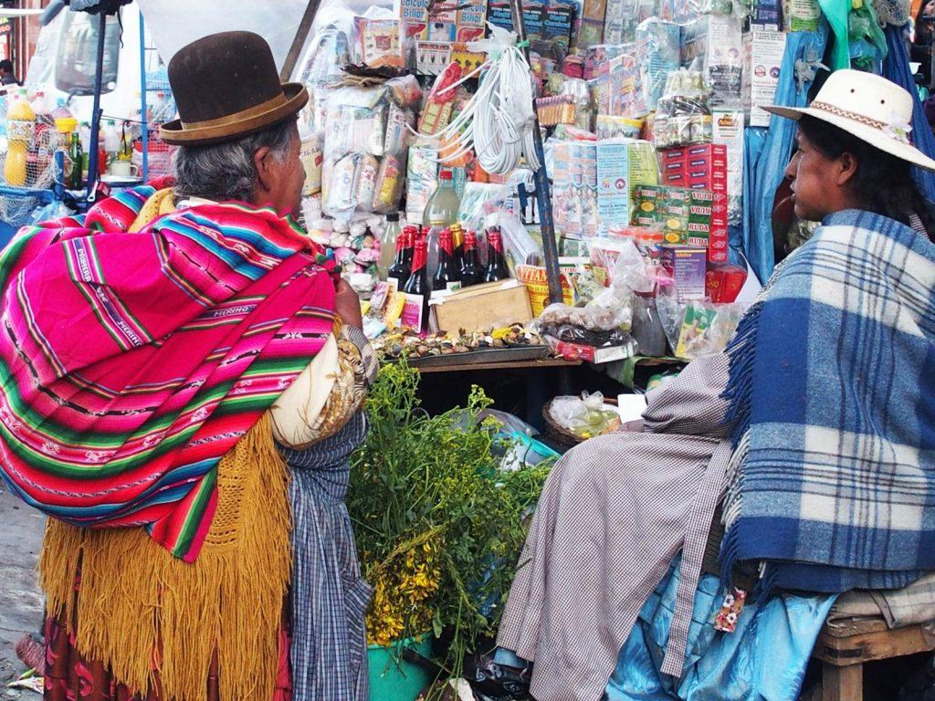 La Paz Bolivie Mercado