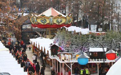 Plaisirs d'hiver à Bruxelles