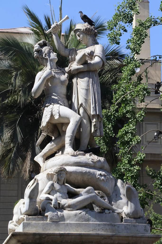 Santiago du Chili Plaza de Armas