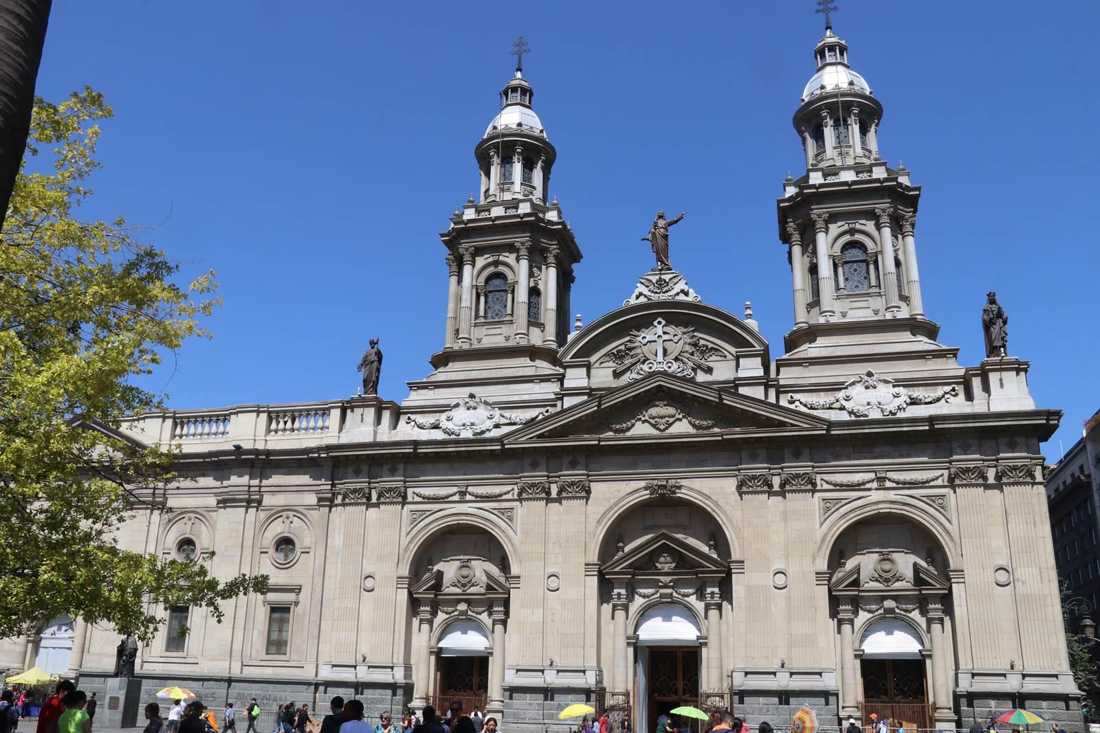 Santiago du Chili Catedral Metropolitana