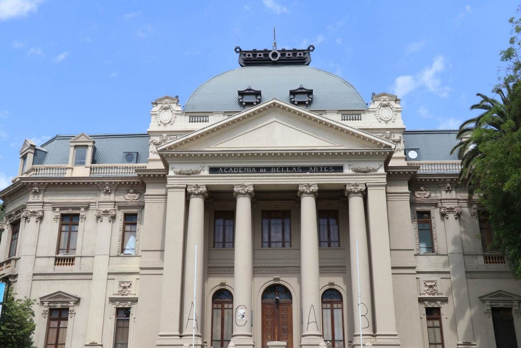Santiago du Chili Museo Nacional de Bellas Artes