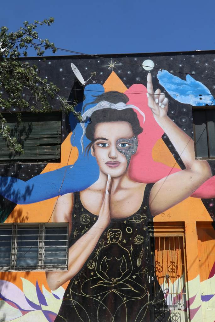 Santiago du Chili Barrio Bellavista