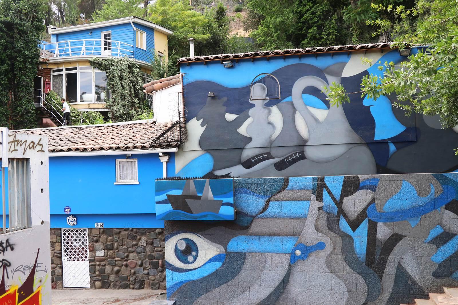 Santiago du Chili La Chascona