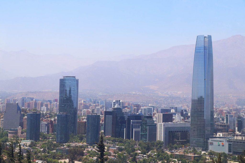 Santiago du Chili Cerro San Cristobal