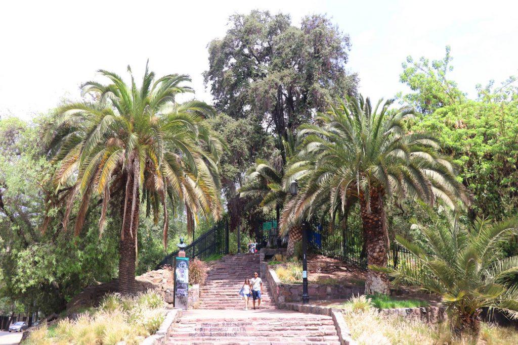 Santiago du Chili Cerro Santa Lucia