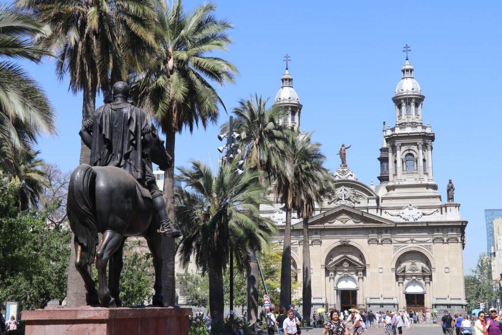Santiago du Chili Plazza de Armas