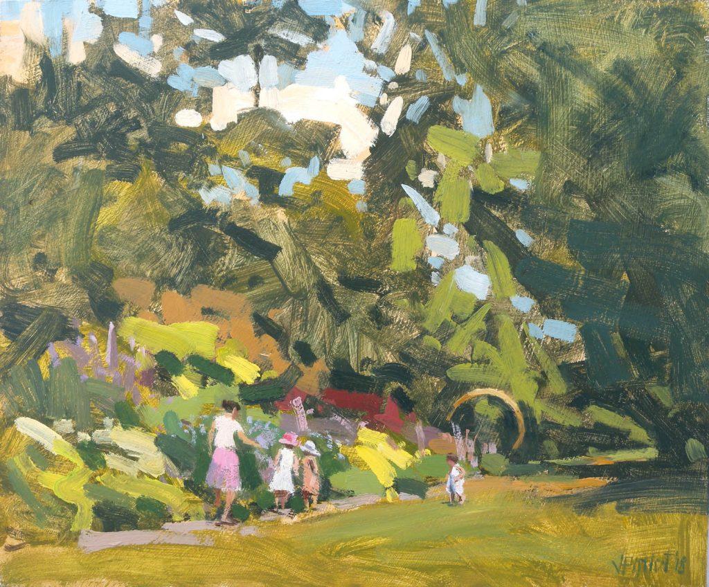Valérie Pirlot painting