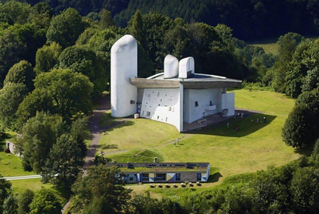 Notre-Dame du Haut Le Corbusier