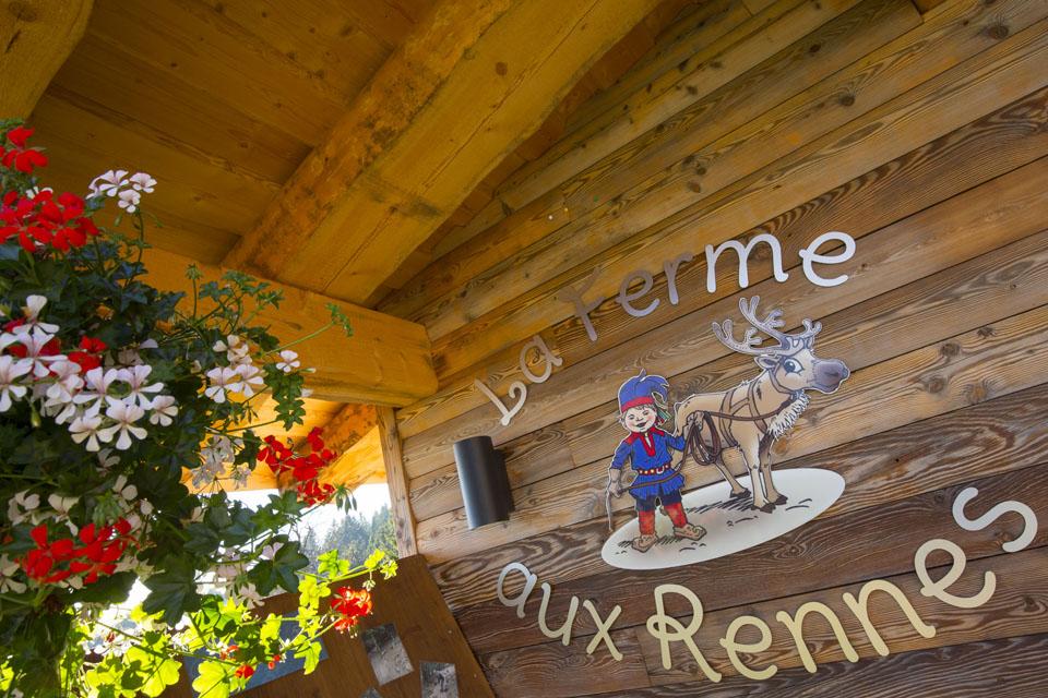 Ferme aux Rennes Vosges