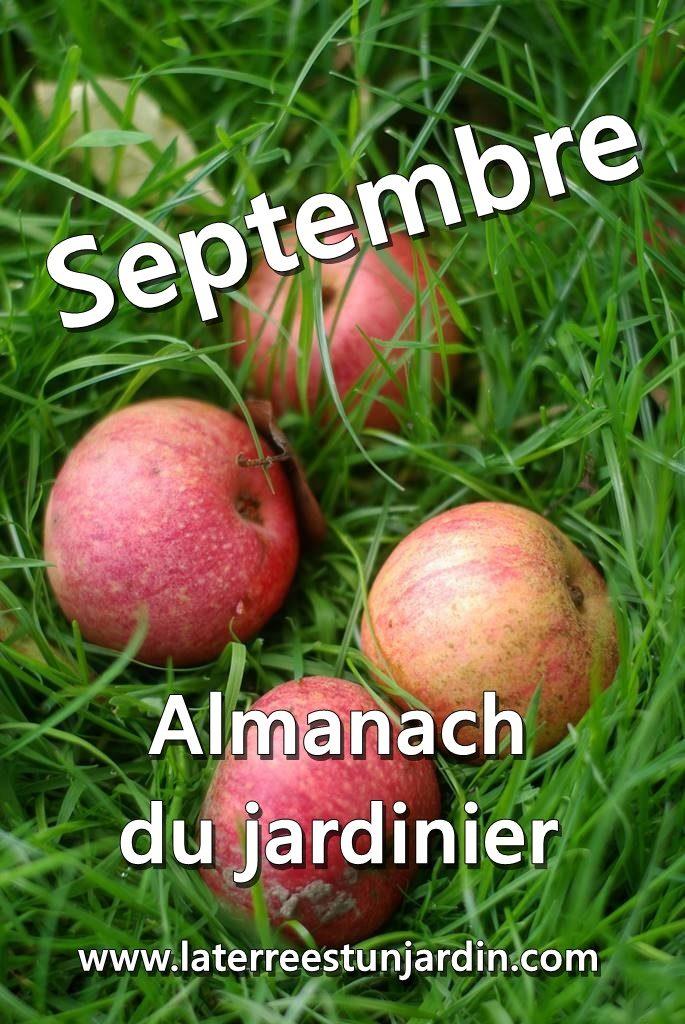 Septembre Almanach du jardinier