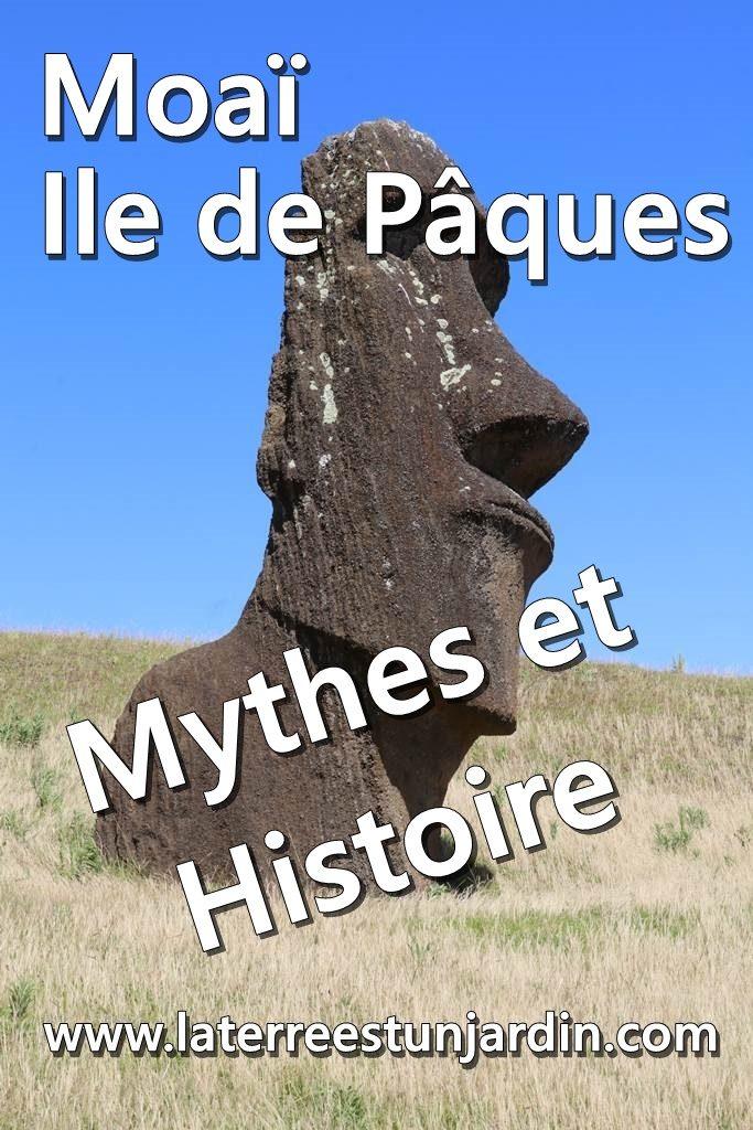 Ile de Pâques histoire Moai