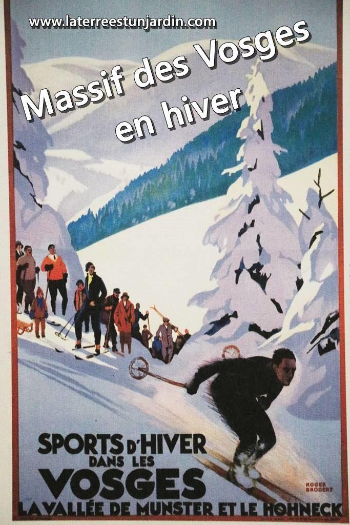 Massif des Vosges hiver