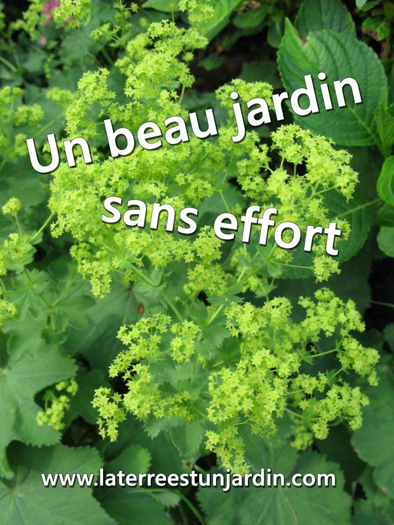 Jardin sans effort