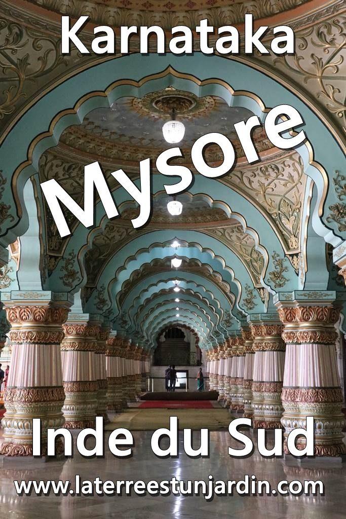 Mysore Karnataka Inde du Sud