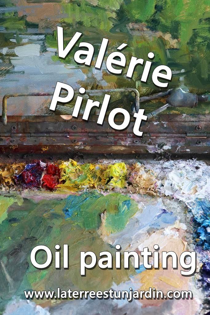 Valérie oil painting