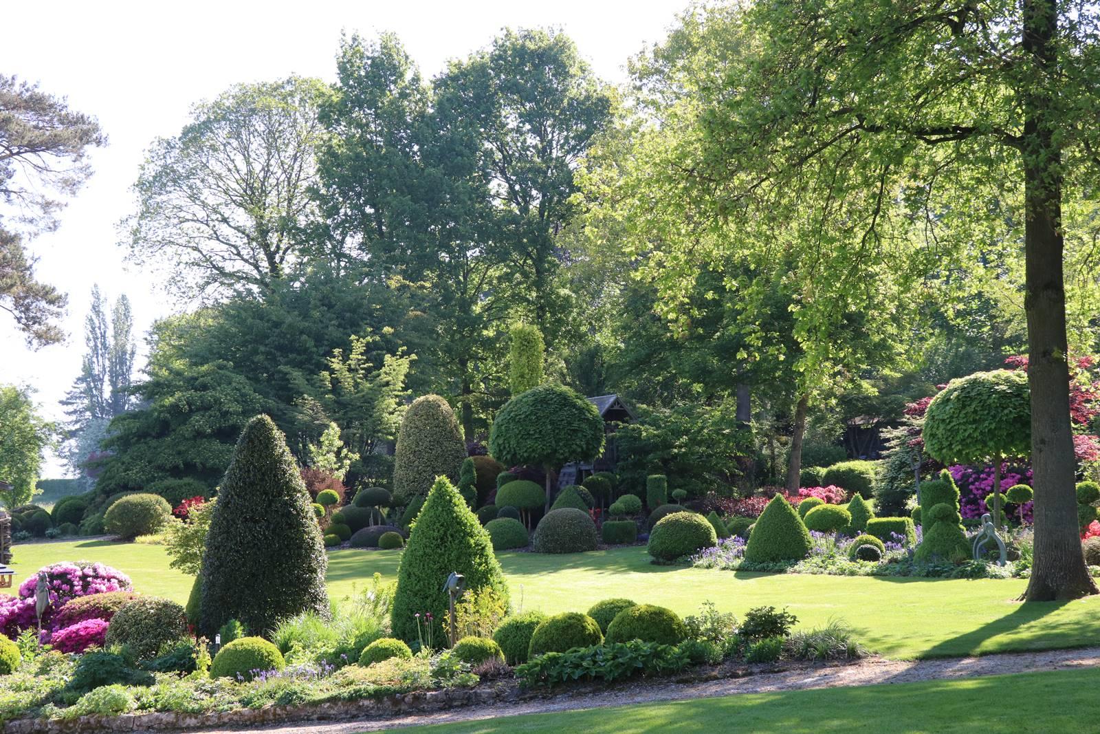 Vieux Manant jardin printemps