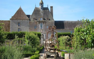 Le potager du Château de la Bussière