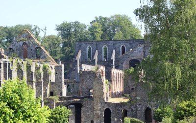 L'Abbaye de Villers-la-Ville, en Brabant
