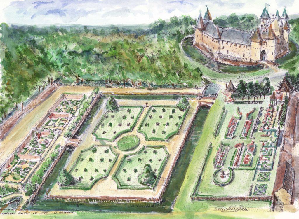 Château et Jardins d'Ainay-le-Vieil