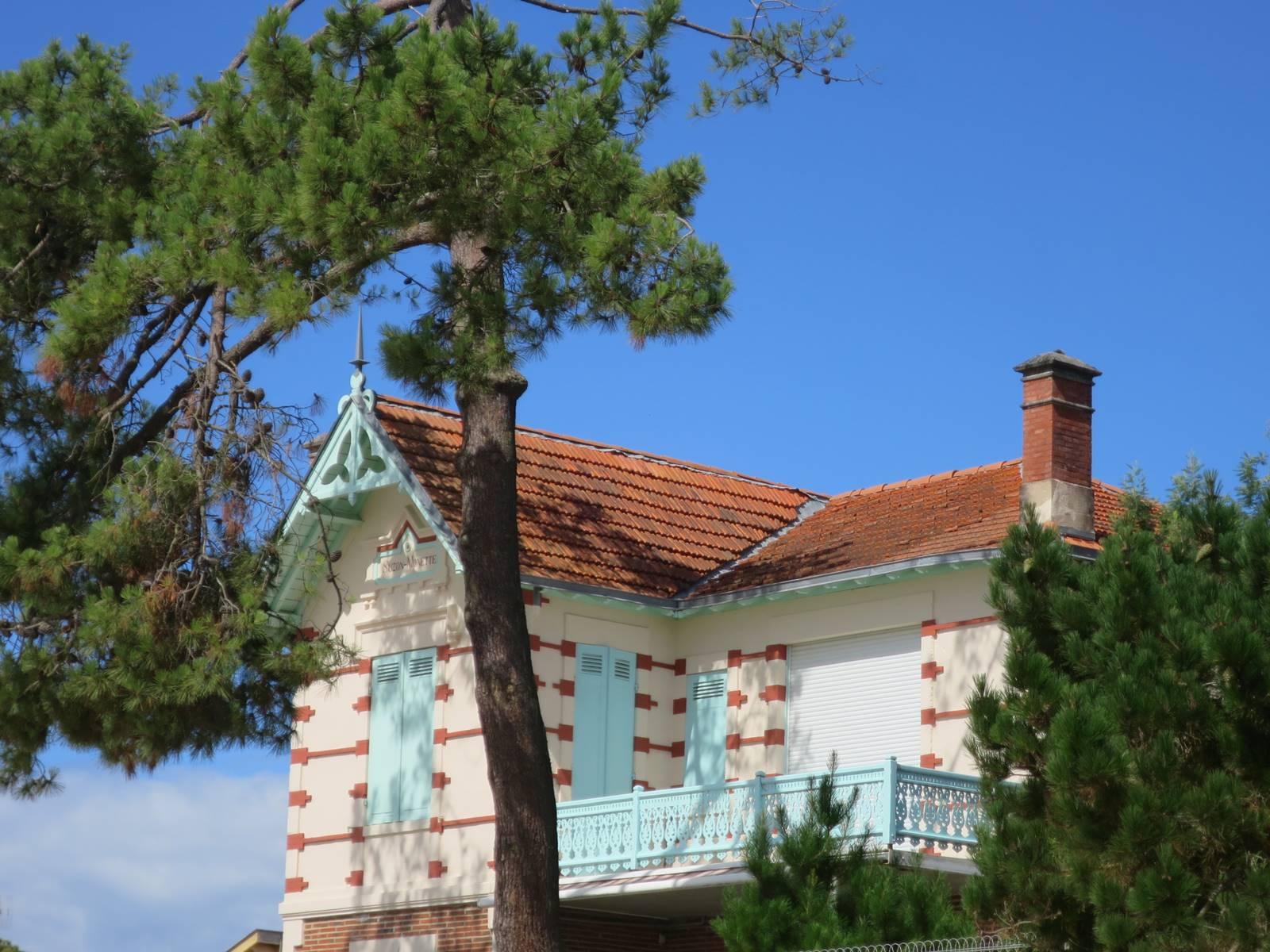 Arcachon villa landaise